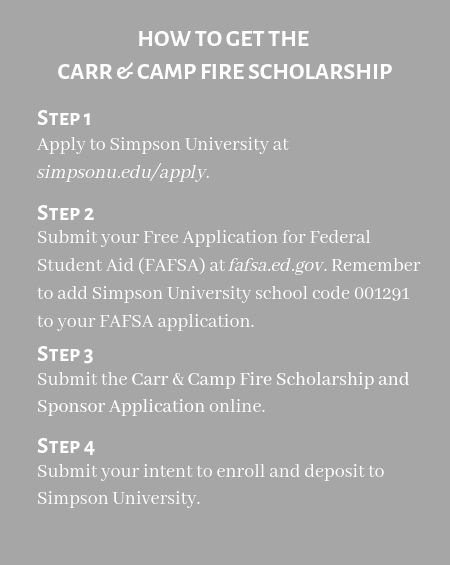 Carr_&_Camp_Fire_Scholarship_Steps