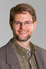 A headshot of TESOL professor Darren Gordon