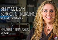 Simpson University - School of Nursing Testimonials -  Heather Dainauskus