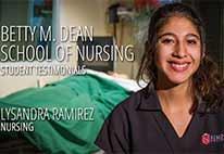Simpson University - School of Nursing Testimonials -  Lysandra Ramirez