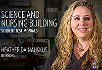 Science and Nursing Center Student Testimonial: Heather Dainauskus