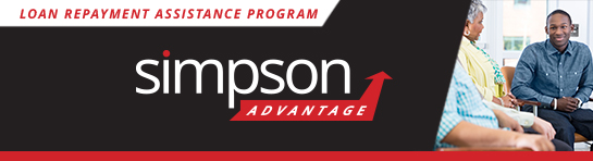 Simpson Advantage: A Loan Repayment Program