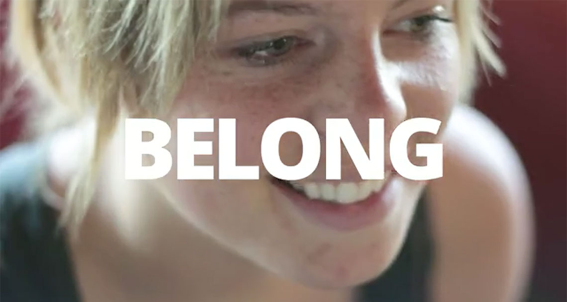 You Belong Here Video. Click to play.