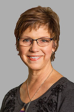 A headshot of Simpson University Board of Trustee member Dr. Jo Anne Cripe