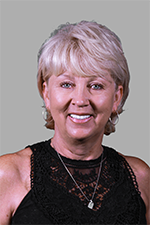 A headshot of Simpson University Board of Trustee member Patty Taylor