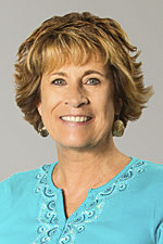 A headshot of Simpson University Provost Dr. Gayle Copeland