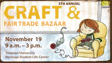 5th Annual Craft and Fair Trade Bazaar