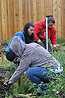 Students participating in Simpson's annual Day of Service