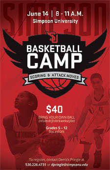 Simpson University Basketball Camp