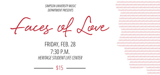 Faces of Love concert