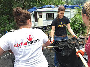 Simpson University Strike Teams Participate in Make a Difference Day