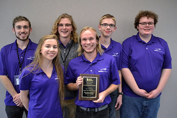 Shasta High School 'Project KnightWolf' team