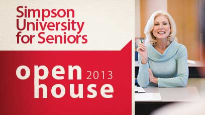 Simpson University for Seniors Open House 2013
